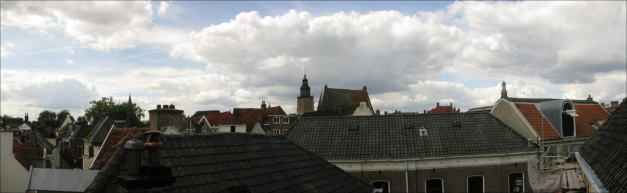 Panorama: Roofs of Zutphen