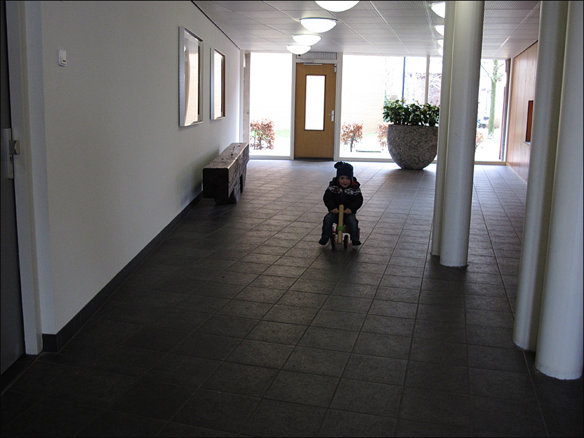 Young Cyclist II