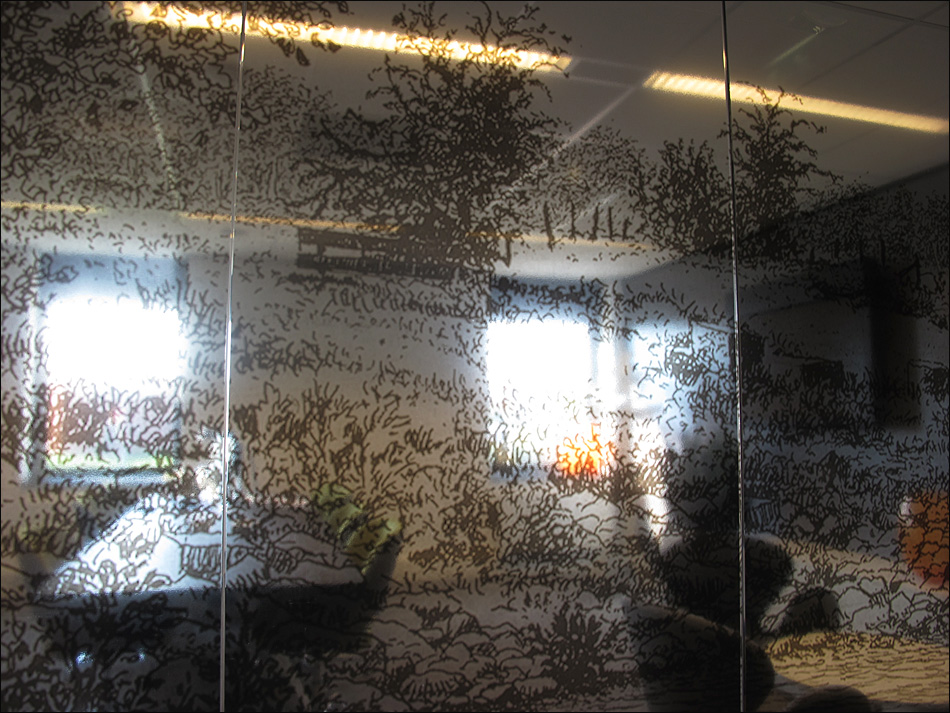 Glass Partition III