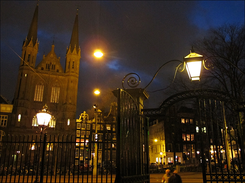 Night in Amsterdam