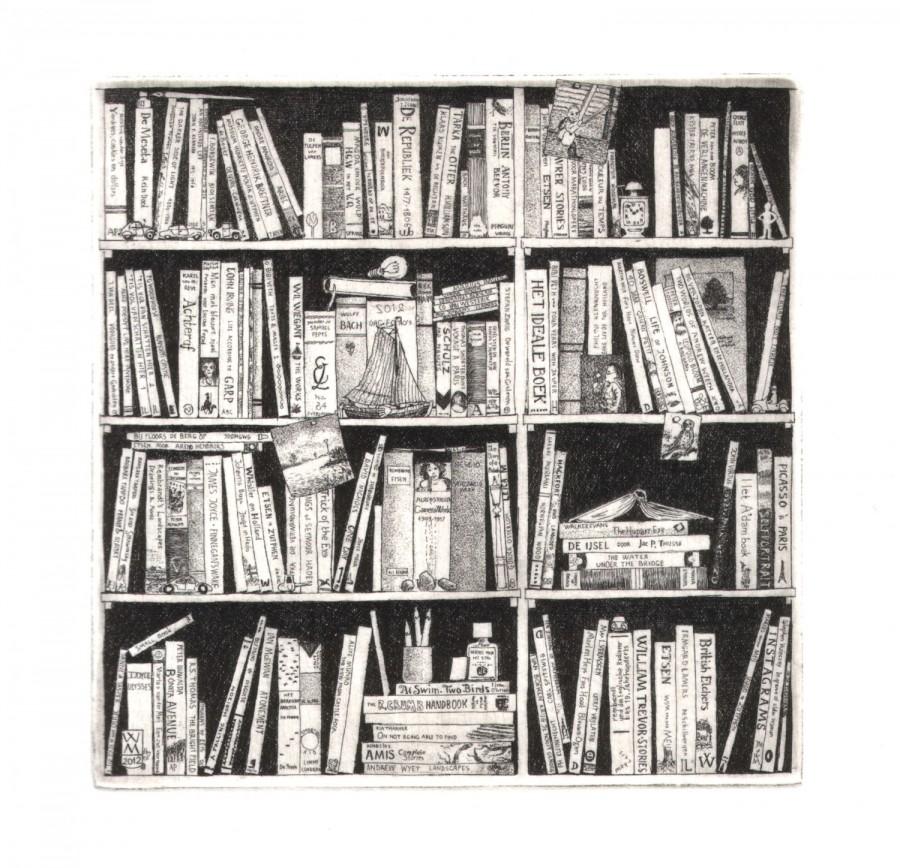 Boekenkast 2012