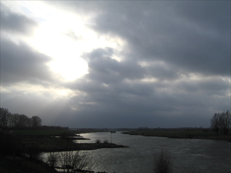 The Sky above the IJssel